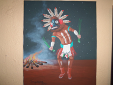 Native american paintings