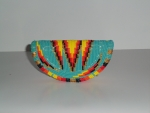 Beaded Medicine Container Turquoise