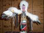 Eagle Dancer With White Head Dressing