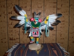 Eagle Dancer Kachina With Green Neckband