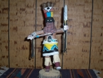 Apache Dancer With Spear