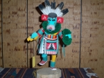 Morning Singer Kachina With Mustard Greens