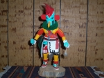 Kowako Chicken or Rooster Kachina With Rattles