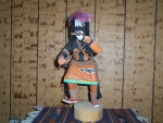 Chusona or Snake Dancer Kachina With Snake