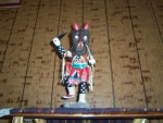 Black Wolf Kachina