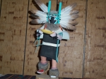 Angwusnasomtaka or Crow Mother Kachina With Brown Feathers