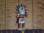 Grey Wolf Kachina